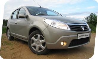 Уроки вождения на Renault Sandero акпп