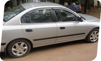 Уроки вождения на Hyundai Elantra мкпп