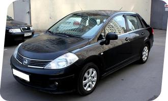 Уроки вождения на Nissan Tiida акпп