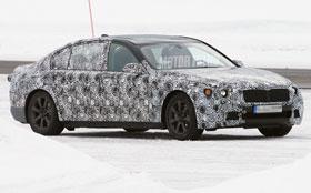 В объективы шпионов попала новая BMW 7-Series