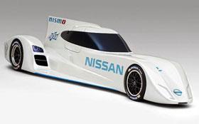 Nissan представил фантастический электрокар для гонок