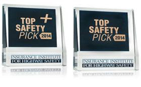 Названы самые безопасные автомобили 2014 года